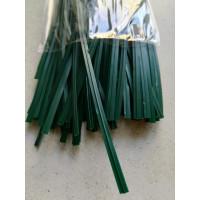 Пластиковая проволока для подвязки растений, 15 см 1000 шт. Германия