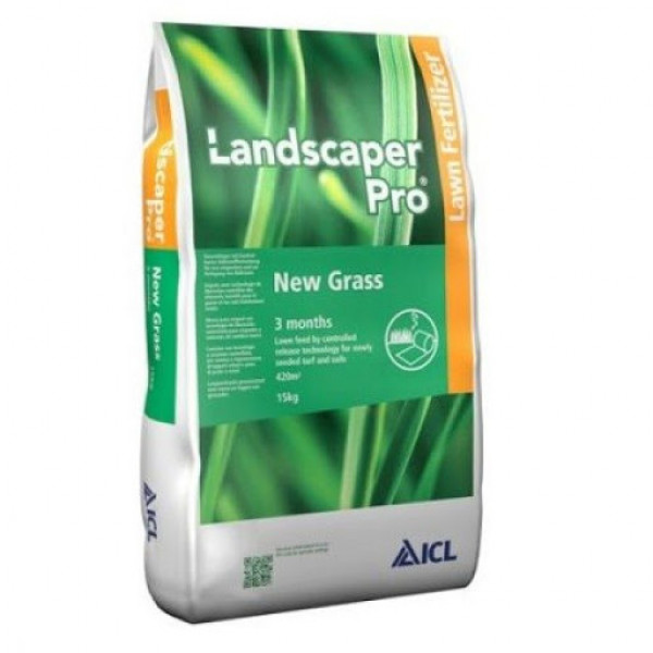 Удобрение для газона LandscaperPro New Grass 15 кг