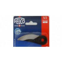 Лезвие 5/3 для секаторов Felco 5, Felco 160L